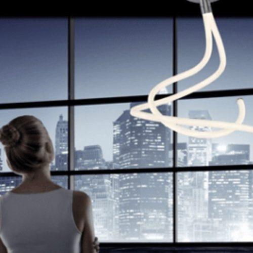 mantra LINE 6600 LED de acrílico blanco